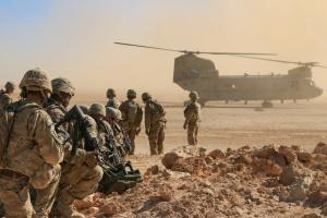 Количество раненых вследствие ракетного удара по базе США в Ираке возросло до 110