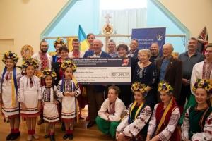 Українці Австралї передали Червоному Хресту $63 тисячі для постраждалих від лісових пожеж