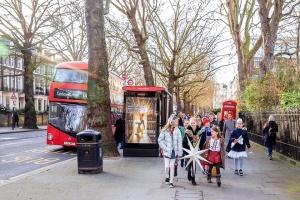 Наймолодші члени Пласту завітали до посольства України у Лондоні