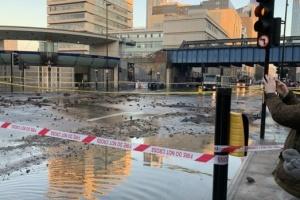 У Лондоні затопило станцію метро