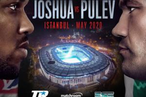 Boxen: Joshua verteidigt IBF-Titel gegen Pulev im Mai