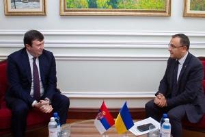 Новий посол Сербії Йованович розпочав дипмісію в Україні