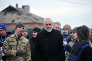 Мир в Україні є пріоритетом албанського головування в ОБСЄ – Еді Рама