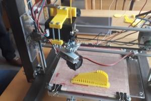 В Ужгороде студенты сконструировали 3D-принтер