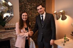 Гончарук на зустрічі з прем'єркою Фінляндії у Давосі закликав інвестувати в Україну