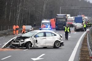 У Польщі зіткнулися 17 автомобілів