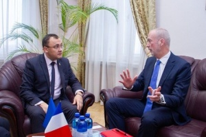 Preparation for Macron's visit to Kyiv discussed at Ukrainian Foreign Ministry