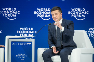 Ukrainian president sees security as biggest threat to cohesive and sustainable world