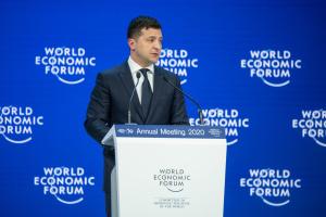 Зеленський після Давосу запевнив, що Україна має підтримку інвесторів