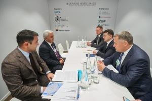Зеленський зустрівся з президентом компанії SOCAR