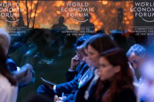 Goncharuk participa en el Desayuno Ucraniano en Davos