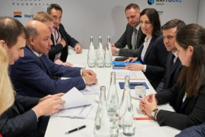 Zelensky meets with EBRD president