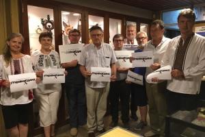 Українці світу підтримали флешмоб до Дня Соборності України