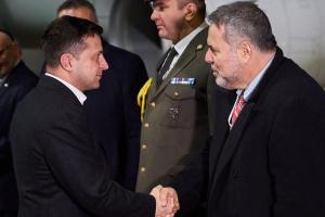 Zelensky realiza una visita a Israel