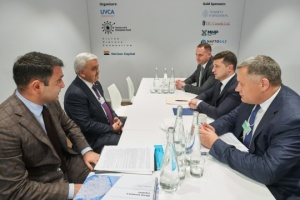 Zelensky meets with CEO of SOCAR