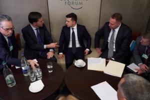 ゼレンシキー大統領、ルッテ・オランダ首相と会談 マレーシア機案件等協議