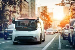 General Motors представила беспилотный шаттл