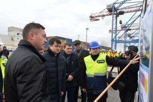Разумков високо оцінив роботу одеського підприємства «Телекарт-Прилад»