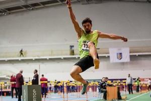 Український стрибун у довжину Ісаченков виграв змагання в Чехії