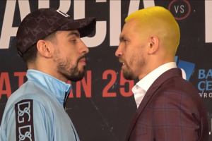 Redkach, Garcia go face to face ahead of fight