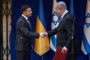 Treffen von Selenskyj und Netanjahu