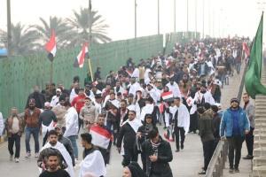 Сотні демонстрантів у Багдаді вимагають вивести з Іраку війська США