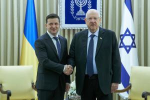 ゼレンシキー大統領、イスラエル大統領へバービー・ヤール追悼施設の建設計画を伝達