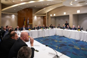 Zelensky discusses investment with Israeli businessmen