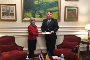 Cuba's new ambassador begins diplomatic mission in Ukraine