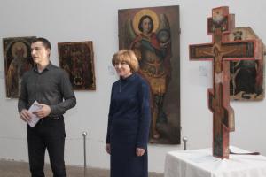 Защитникам Украины посвятили выставку икон в Чернигове