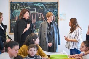 Олені Зеленській показали ізраїльську систему соціалізації дітей з інвалідністю