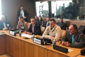 Сенцов в ООН закликав боротися за звільнення українських політв'язнів у РФ