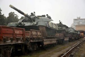 Київський бронетанковий завод відвантажив до війська 15 відремонтованих Т-72