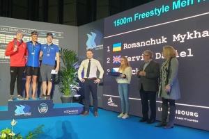 Українські плавці виграли в Люксембурзі три «золота» і встановили світовий рекорд