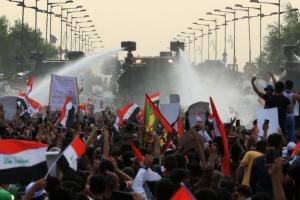 В Іраку поліція придушує антиурядовий протест сльозогінним газом та бойовими кулями