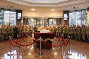 В Зале памяти Минобороны почтили погибших защитников