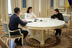 Скалецька доповіла Зеленському про ситуацію з коронавірусом