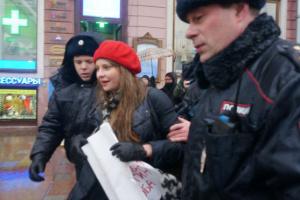 У Росії пройшли акції проти безстрокового перебування Путіна при владі