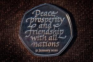 У Британії презентували монету, присвячену Brexit