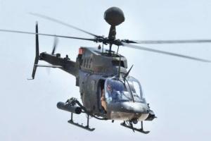 У Хорватії впав у море військовий гелікоптер