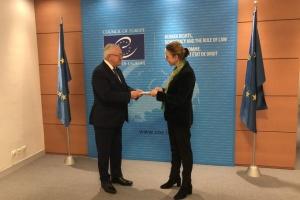 Новий постпред України при РЄ офіційно розпочав роботу