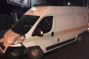 У ДТП у Львові постраждали троє медиків швидкої допомоги