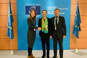 Українські делегати у ПАРЄ зустрілися з Генсеком Ради Європи