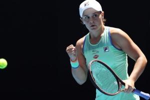 Барти и Кенин стали первыми участницами 1/2 финала Australian Open-2020