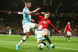 Полуфинал Кубка Английской лиги: Манчестерское дерби