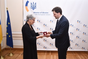 Гончарук вручив орден віцепрезидентці Європейської народної партії