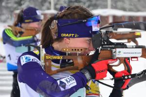 Українські біатлоністки - 11-і на першості світу з біатлону в естафеті 3х6 км
