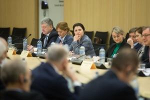 Порошенко призывает НАТО принять политическое решение о предоставлении Украине ПДЧ