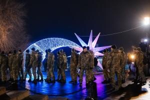 В Одесі курсанти організували флешмоб на честь Героїв Крут