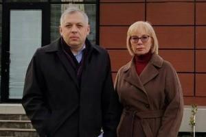 Денісова відвідала ув'язненого в Грузії українця